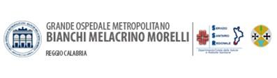 Logo dell'Ospedale Bianchi Melacrino Morelli di Reggio Calabria